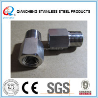 straight threaded reduced hydraulic nipple hose adapters
