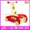 2015 new go cart toy,popular wooden toy go cart,hot sale wooden go cart toy W16E002