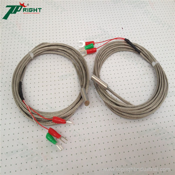 Pt100 type thermocouple head/probe support customized