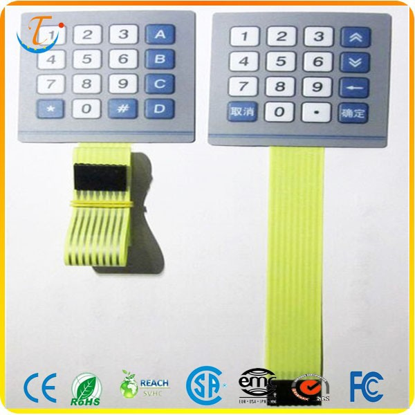 Capacitive Touch Membrane Switch Manufacturer