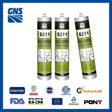 black single component instant rtv silicone sealant/neutral good adhesion