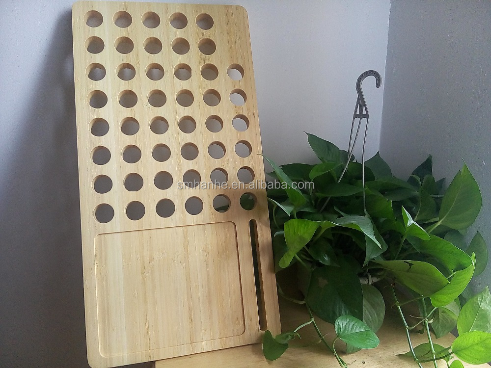 Bamboo Desktop Holder Cooling Tray for Laptop Computers For Your Arm Chair, Lap, Sofa, or Bed