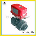 AC220V CTF002 UPVC DN50 electric motorized valve with manual override function