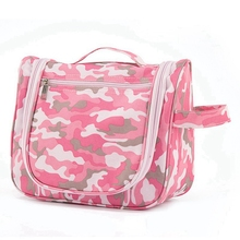 Cheap and fine PU toiletry bag hanging travel cosmetic toiletry bag