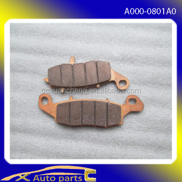 wholesale atv china CF moto parts A000-0801A0 Left front brake pads