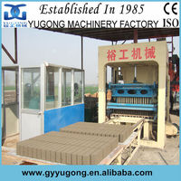 Yugong Brick Machine Used Cement/Concrete/Fly Ash Brick Making Machine For Sale