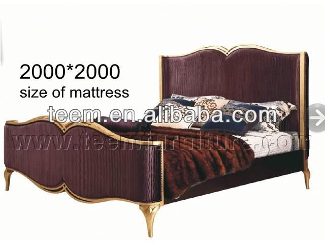 Solid Wood update Dealer double-column metal High new bed style