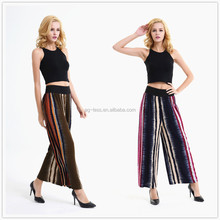 wholesale stripes printed loose pants for women yoga pants plus size trousers