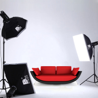Wholesale studio lighting kit in photo studio accessories