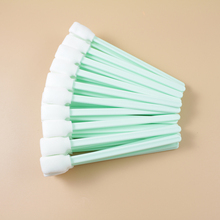 (50 swab/pack) Cleaning Swab swabs for Epson Solvent DX2 DX3 DX4 DX5 DTG XAAR Printer Head Printer maintenance Foam Tip Cleaning