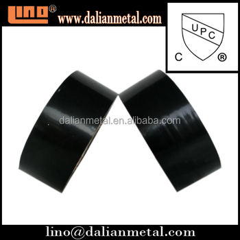 2016 free sample underground black PVC pipe wrap tape with good quality
