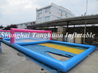 inflatable water volleyball court volleyball uniform designs