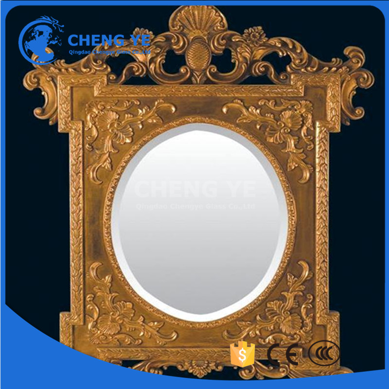 Best Sell 2mm Silver Aluminium Glass Makeup Mirror With Colored Sheet