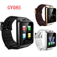 GV08S Bluetooth Smart Watch Phone 2.0M Camera SIM TF Pedometer For Android Smart Phone