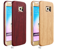 2016 New Premium Wood Protective Cell Phone Case Cover for Samsung Galaxy S6 Edge Plus