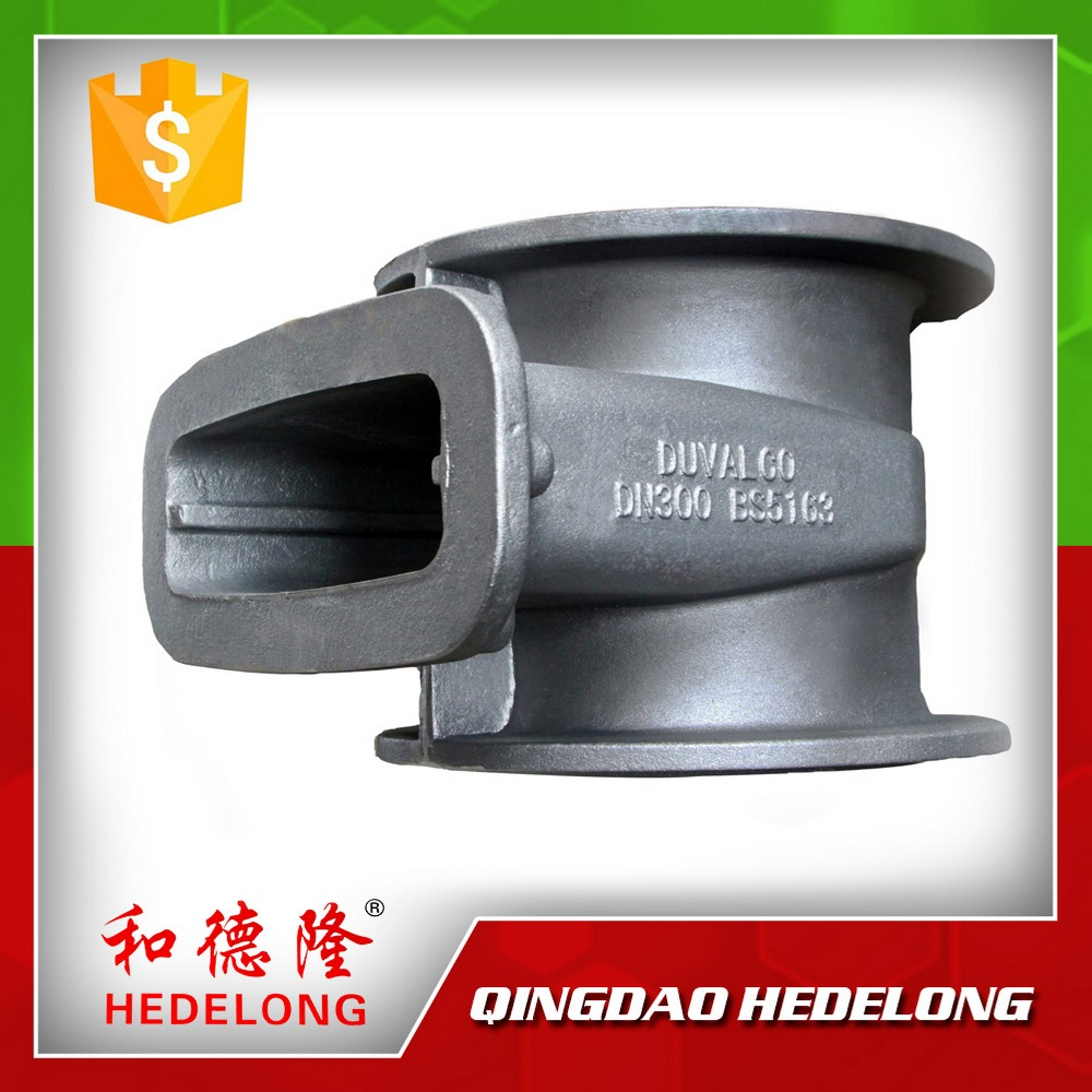 Ductile Iron Sand Casting Valve Parts Water Valve Cover