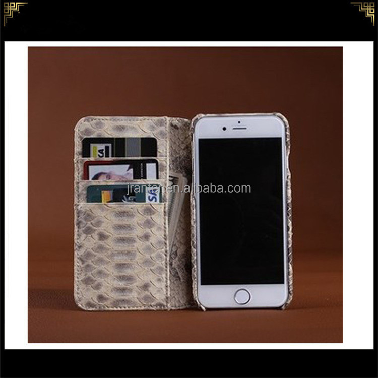 Python Skin Hot Selling Wallet Case for Iphone 5, Phone Case Card Holder for Iphone 5