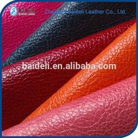Textiles Leather Products Pvc Faux Leather
