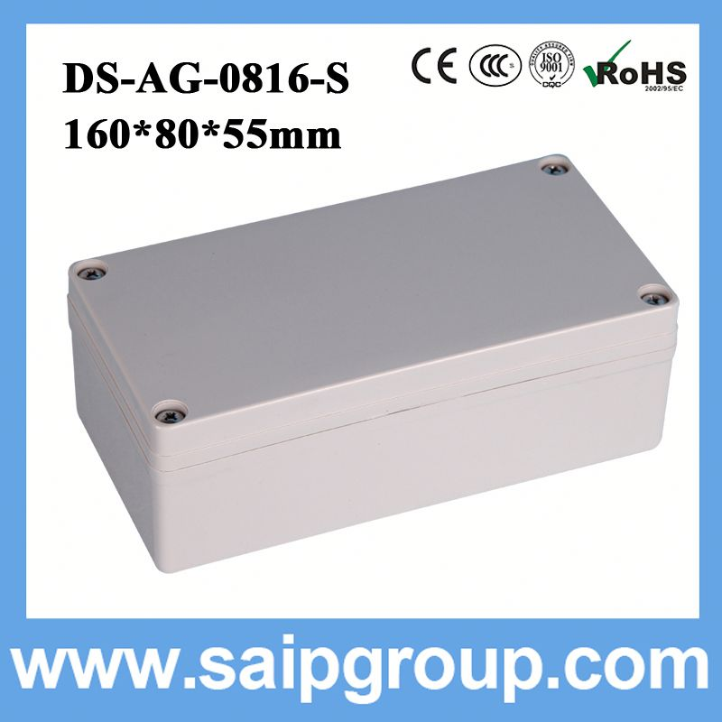 switch board plastic box tooth shape extruded aluminum enclosure