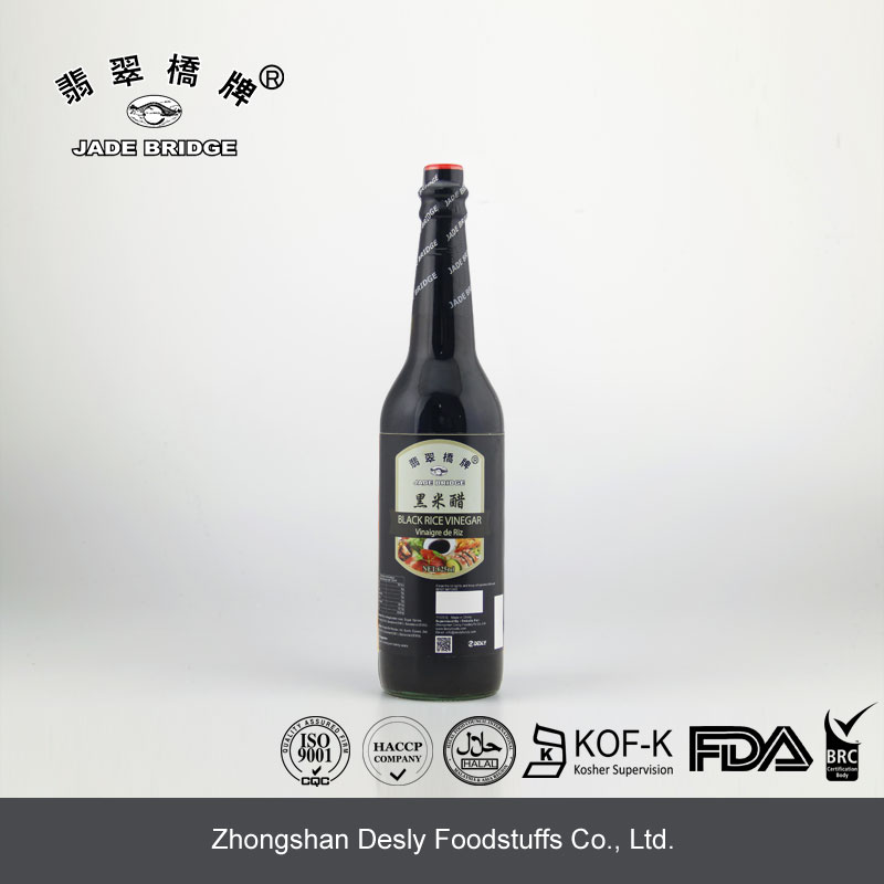 China Black Vinegar Manufacturer fermented rice vinegar