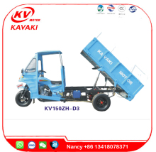 KAVAKI moto Sale garbage tricycle & garbage three wheel motorcycle & rubbish collector /ash car /garbage truck