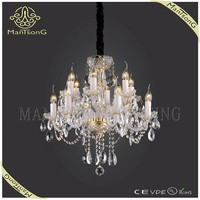 2015 trade assurance suppliers hot sale hotel lighting modern luxury crystal candle chandelier light