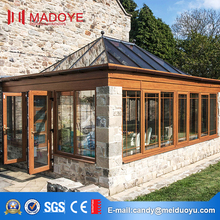 Aluminium Customized Villas Glass Sunshine Room for sale