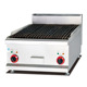Counter Top stainless steel Electric Lava Rock Grill