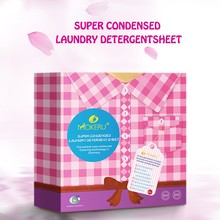 OEM Private Label Healthier Super Condensed Laundry Detergent Sheets