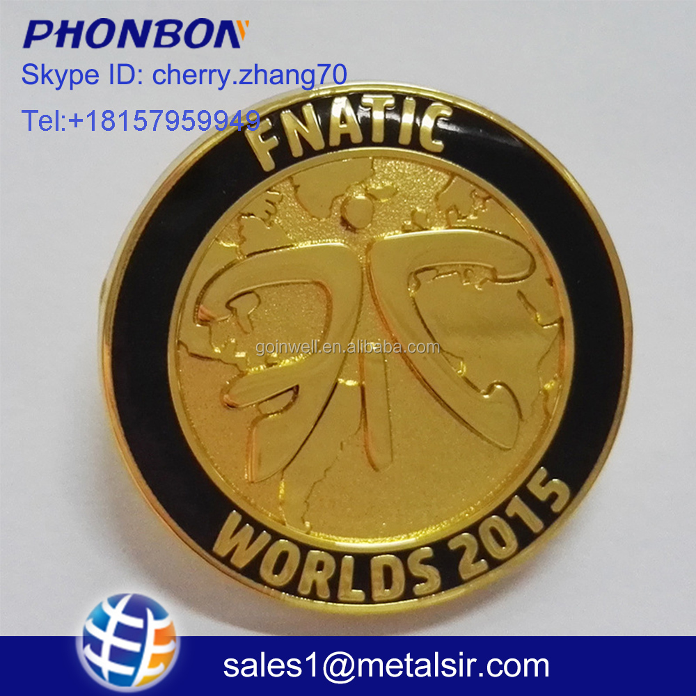 custom metal logo for handbags lapel pin enamel pin epoxy coins