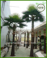 palm tree outdoor lamp/artificial palm trees