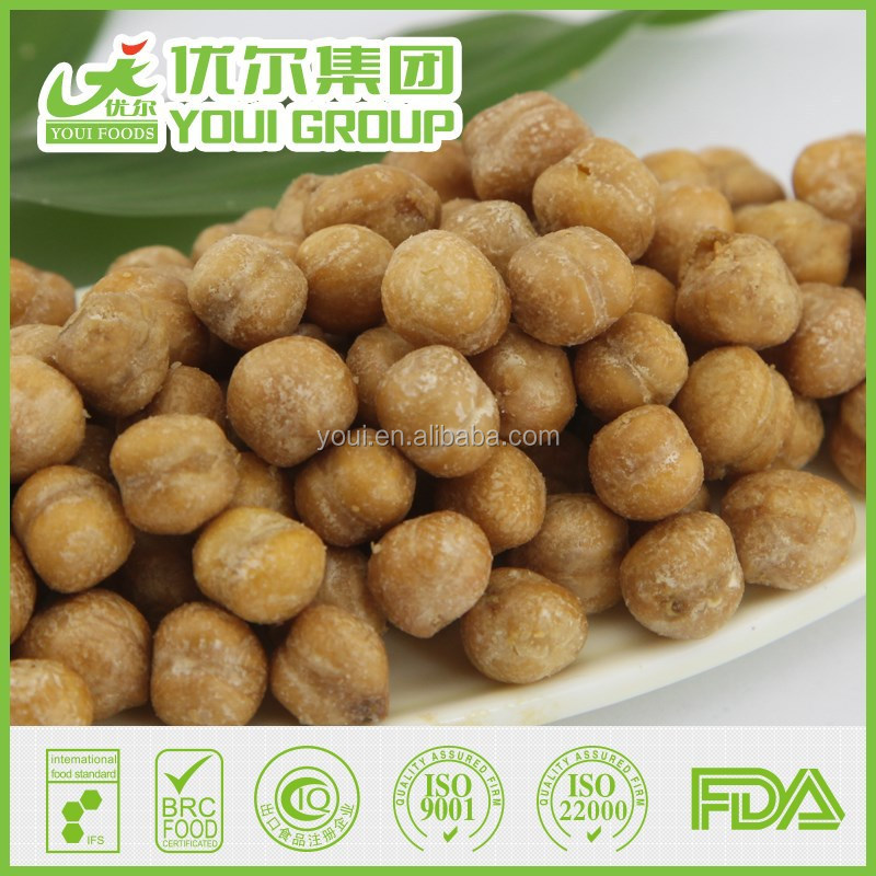Wholesale Healthy Snack Salted Chickpeas With BRC, fried Chickpeas Snacks,Healthy snacks
