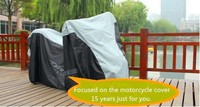 black and silver high top motor tent/sun shade cover for motorcycle with high quality and free sample