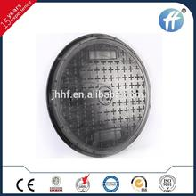 FRP GRP Fiber Glass concrete pipes manhole cover made in China