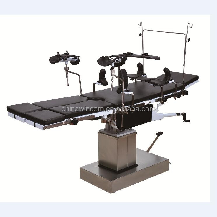 3008B Hospital Manual Hydraulic Surgical Manual Operating Table
