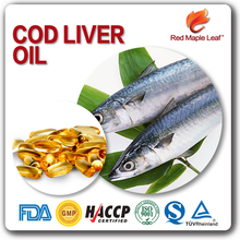 500 mg Cold Pressed Cod Liver Oil Softgel Capsules