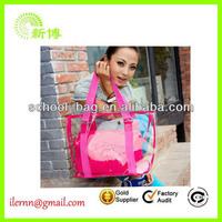 Wholesale nice design pvc handbag