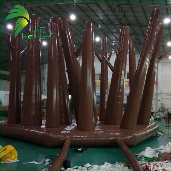 Floating Air Trees / Decorative Inflatable Bubble Tree Balloon / Display Inflatable Forest for Outdoor Party Event