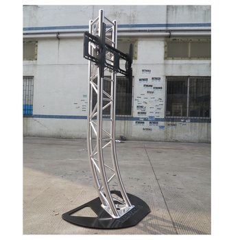 aluminum alloy tv stand truss moving head light truss stands