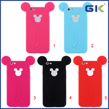 [GGIT] Fashion Painting Cartoon Mickey Candy Color Soft TPU Cell Phone Case For IPhone 6 Celulares Cover