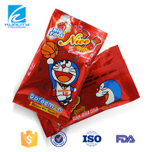 Hot sales ! center seal soft candy sweet pouch