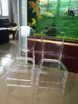 Clear Acrylic Chairs Modern Plastic Tiffany Chair Wedding Ghost For