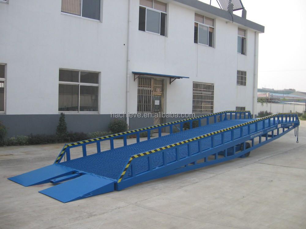 Hydraulic driven container loading platform with CE