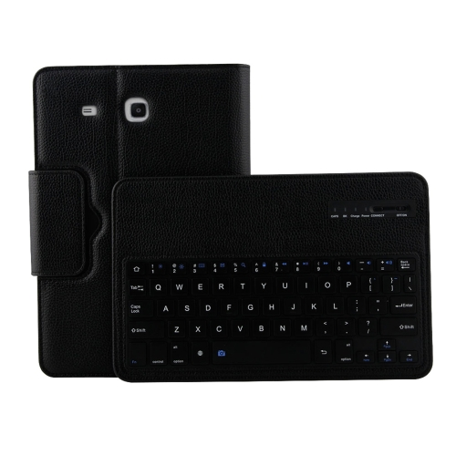 New Arrival 2 in 1 Detachable Keyboard Litchi Texture Leather Case with Holder for Samsung Galaxy Tab