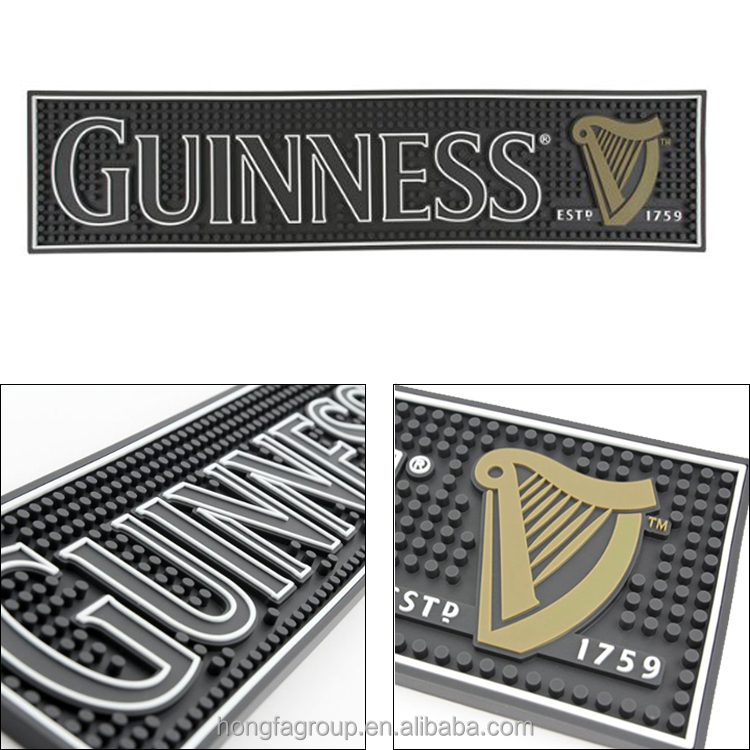 hot 2015 high quality logo printed beer mat