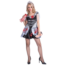 new arrival Halloween sexy vampire costume devil death zombie cosplay dress for women