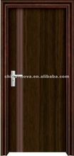 PVC wooden doors in different designs and colors