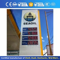 Led Gas Station Aluminum Sign Display For Sale