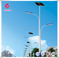 Solar and wind power LED solar street lights efficient outdoor lighting