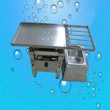 Stainless steel High screening efficiency small vibration table chocolate machine